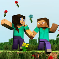Marriage on Minecraft