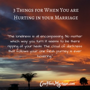 3 Things for When you are Hurting in your Mar…