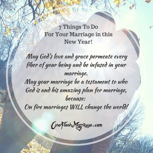 7 Things To Do For Your Marriage in this New …
