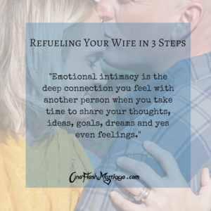 Refuel Your Wife in 3 Steps